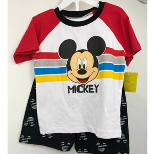 Disney Junior Mickey 2 piece set - Shirt & Shorts